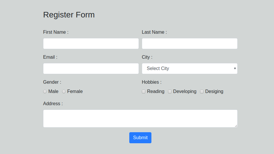 React Get Form Values On Submit