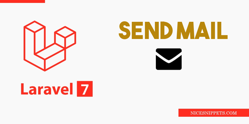 Laravel 7 Send Email Example