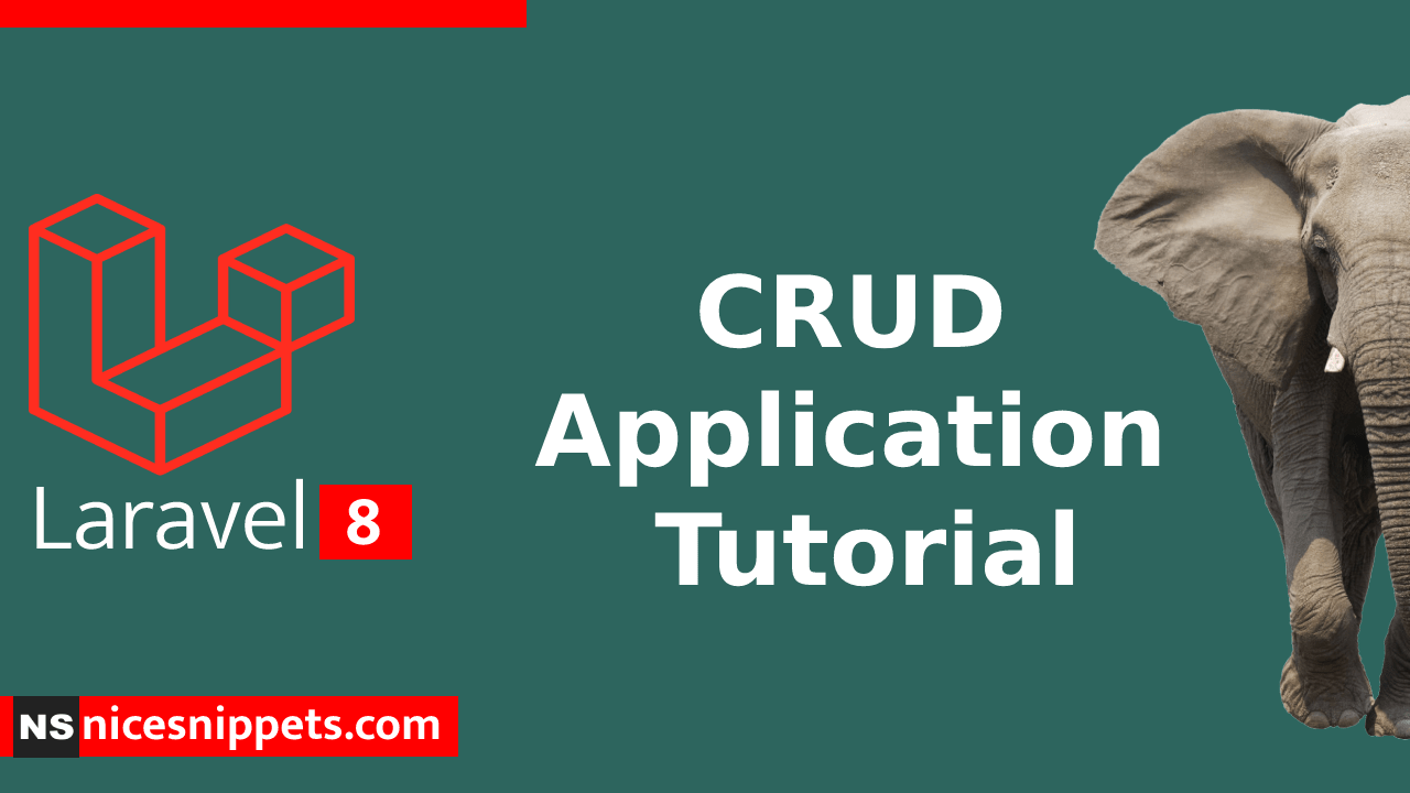 Laravel 8 CRUD Tutorial Example From Scratch