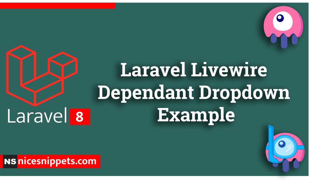 Laravel Livewire Dependant Dropdown Example