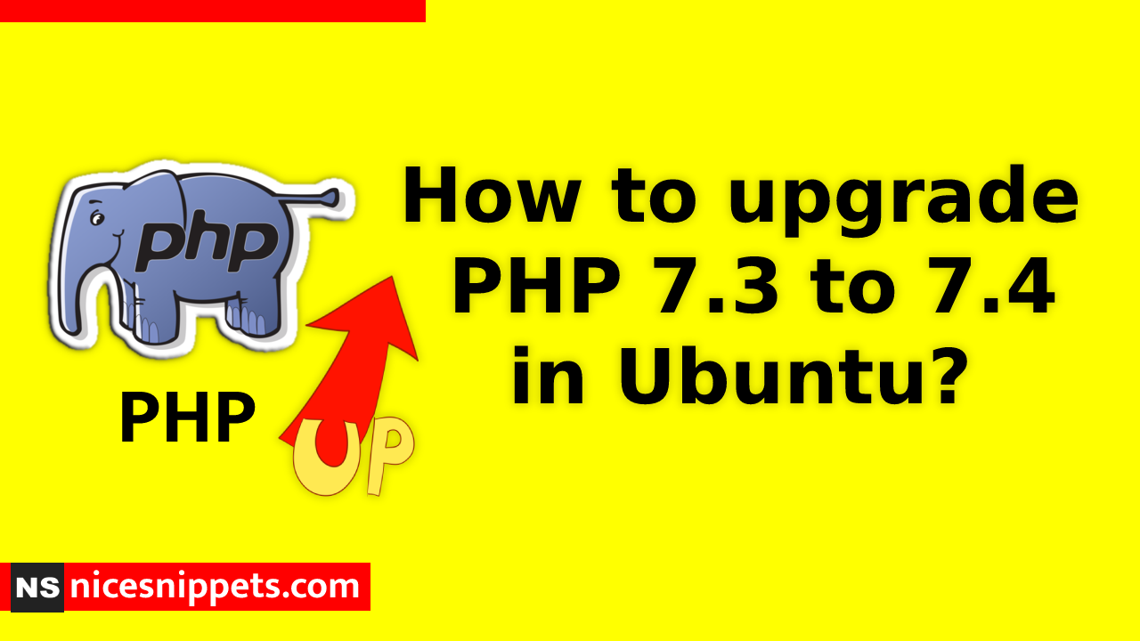 How to upgrade php 7.3 to 7.4 in Ubuntu?