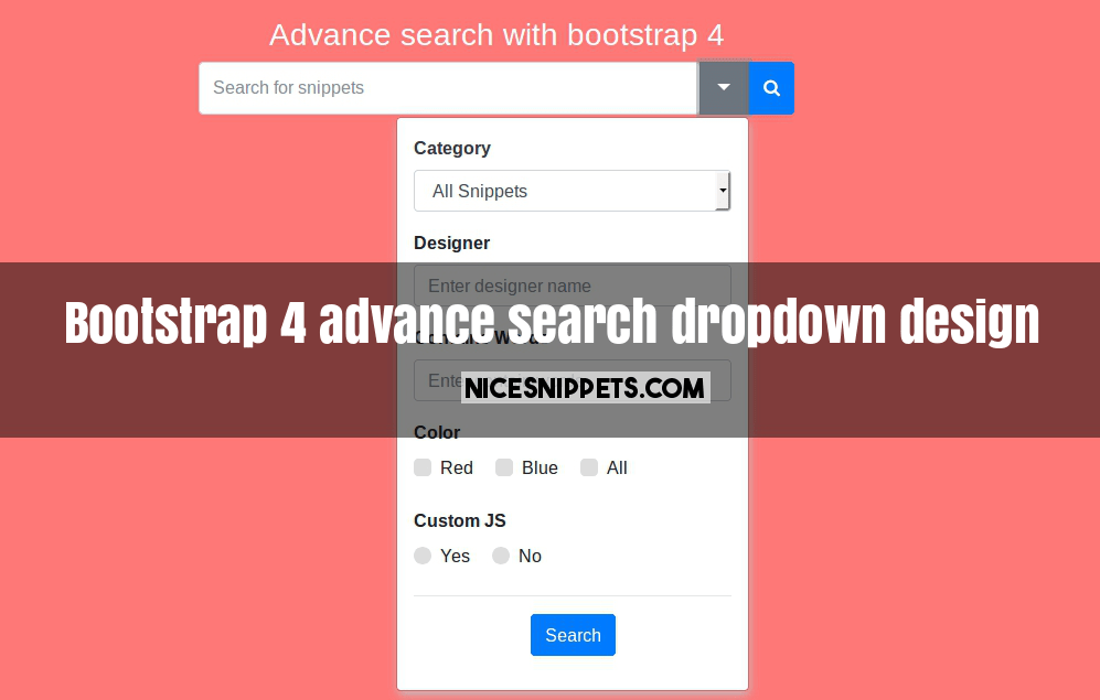 Bootstrap 4 multiselect dropdown