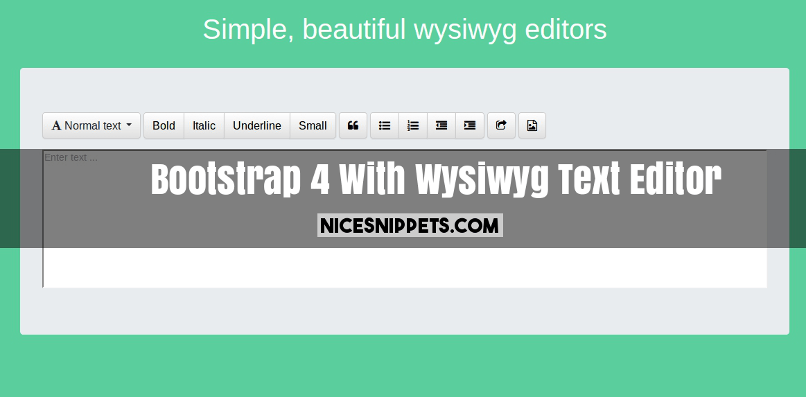 Wysiwyg Editor Download