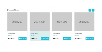 Best product display slider using bootstrap