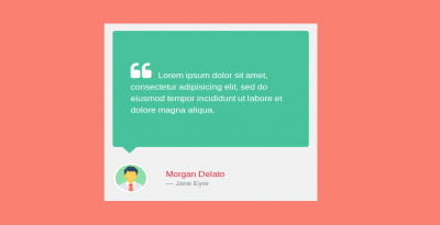 Bootstrap 4 Blockquote with user image desing
