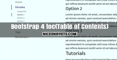NiceSnippets - Free code of snippet for HTML, Bootstrap